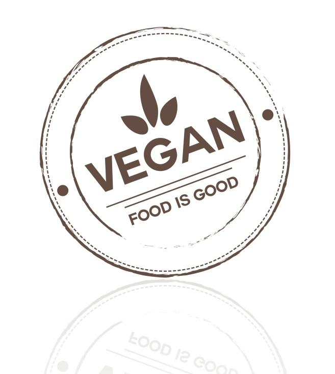 VEGAN FOOD LOGO Praesentation