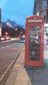 die erste Telefonzelle