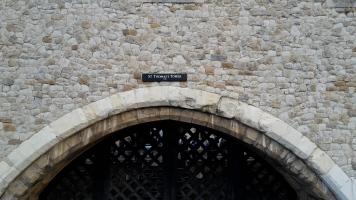 St. Thomas Tower: Hier sind früher Boote in den Tower gefahren