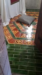 Boden in der Kapelle