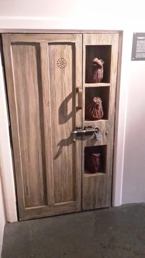 Die Tür wo es klopft
