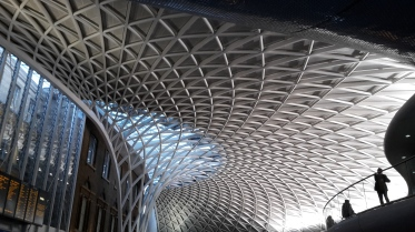 Decke der Kings Cross Station
