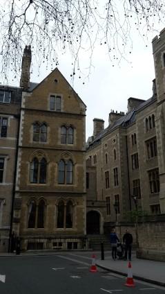 Häuser im Innenhof der Westminster