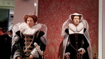 Queen Elizabeth I. und Maria Stuart
