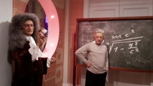 Albert Einstein (rechts)