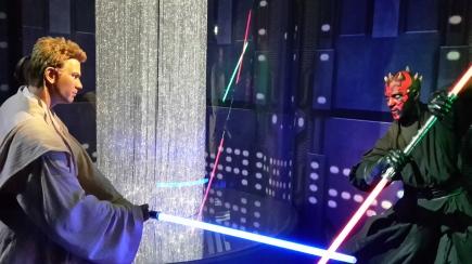 Obi Wan Kenobi und Darth Maul