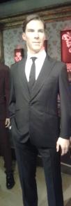 Benedict Cumberbatch als Wachsfigur im britischen Madame Tussauds