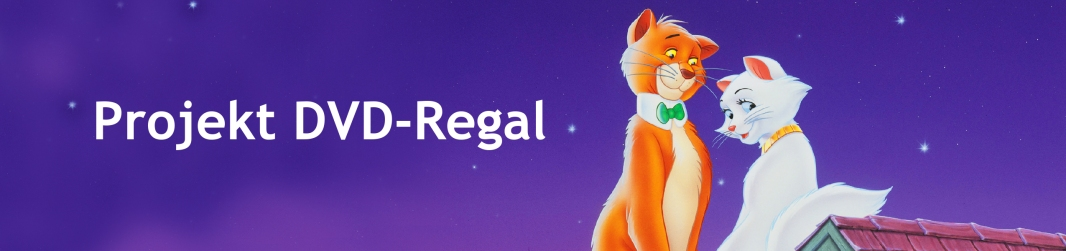 Projekt DVD Regal Aristocats