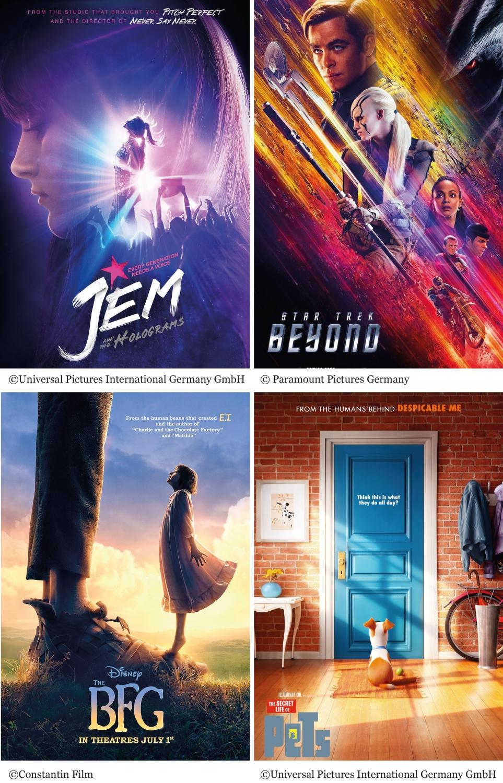 Kinovorschau Juli 2016