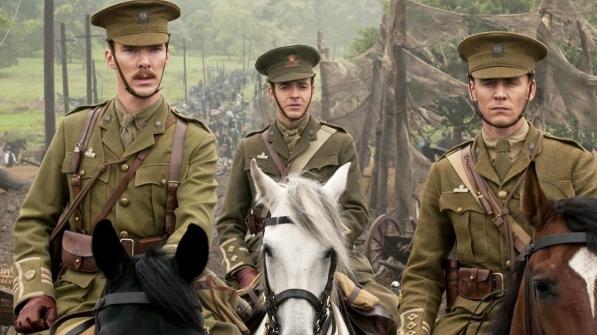 "Benedict Cumberbatch (links) und Tom Hiddleston (rechts) in ""War Horse"" ©The Walt Disney Company"
