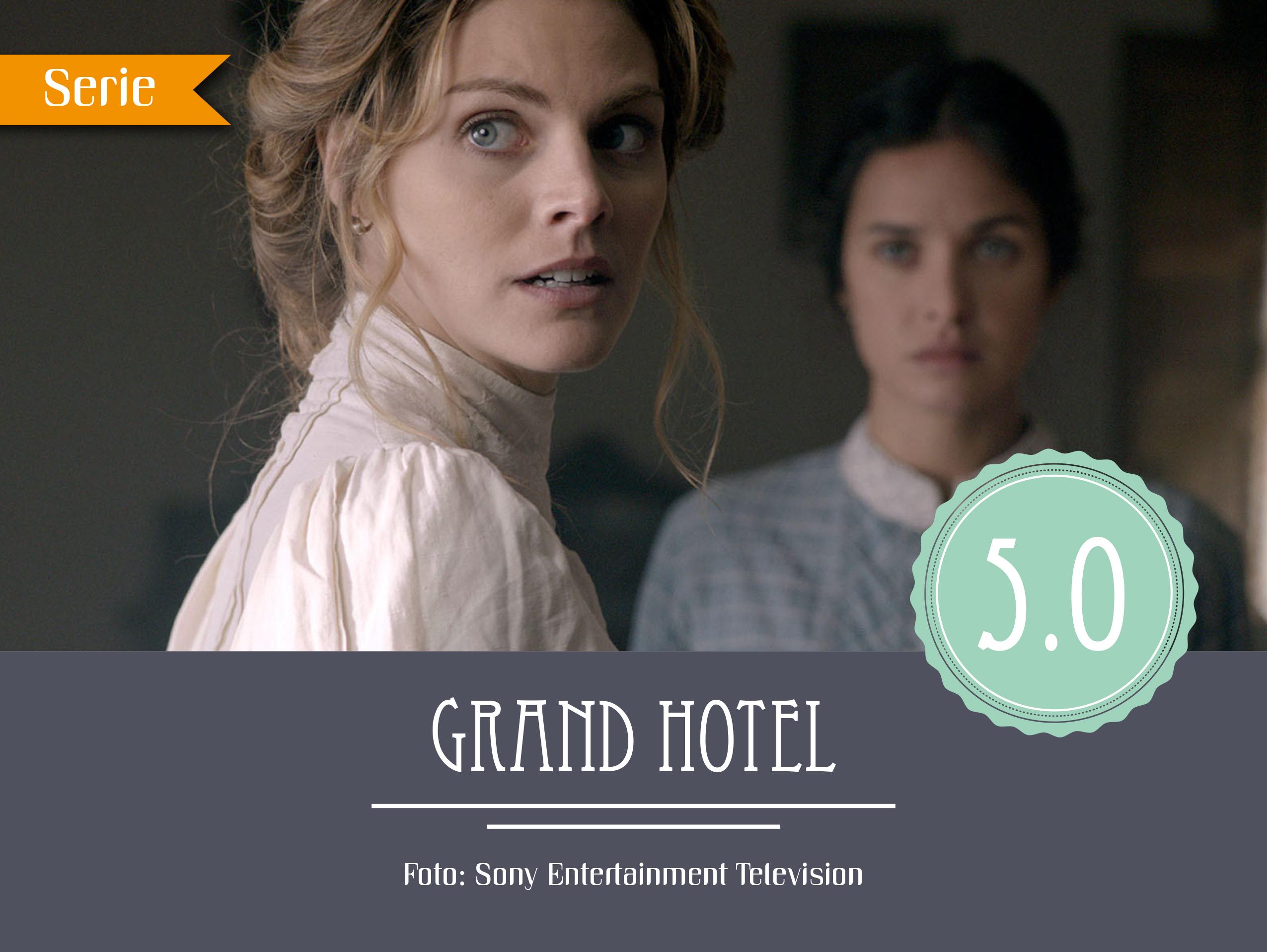 Serie Grand Hotel Staffel 2 Gina Dieu Armstark