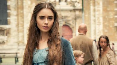 """Lily Collins in der neuen Serie """"Les Misérables"""" ©BBC"""