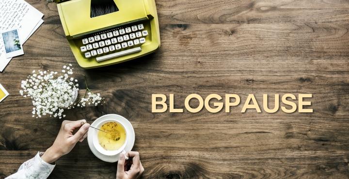 Kurze Blogpause