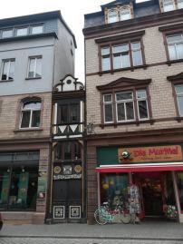 Das schmalste Haus in Eisenach