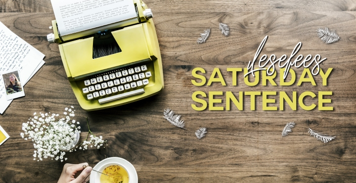 Lesefees Saturday Sentence: Wild Creek Love