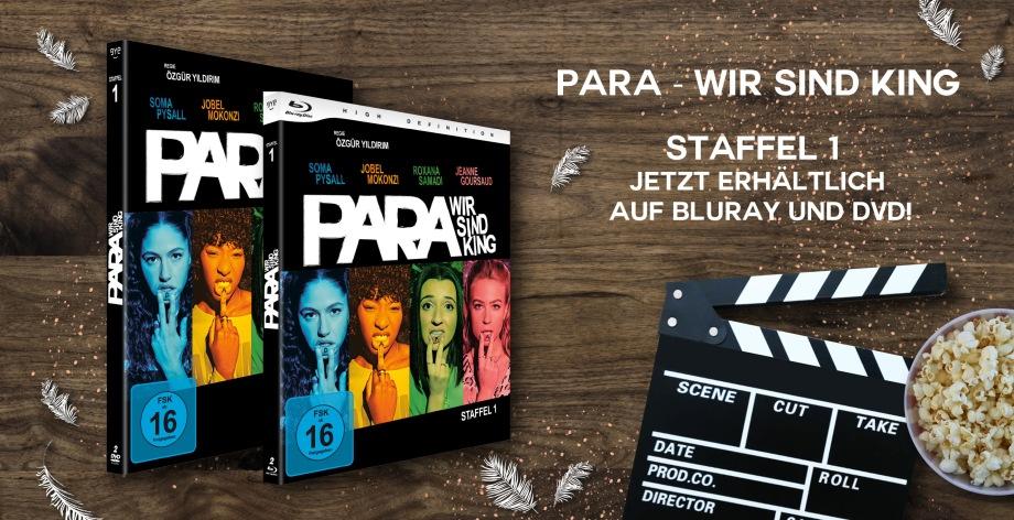 Passion of Arts, Para - Wir sind King, DVD, Bluray